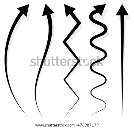 Zigzag Arrow Stock Images, Royalty-Free Images & Vectors ...