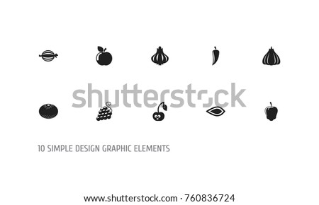 Set 10 Editable Cookware Icons Includes Stock Vector Hd Royalty
