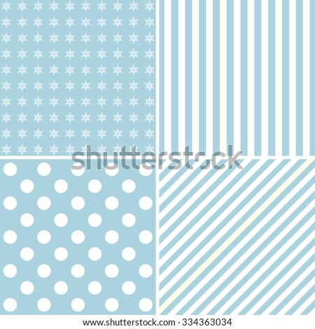 Set four cute backgrounds stock vector 334363034 shutterstock set of four cute backgrounds voltagebd Gallery