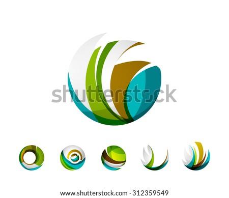 Colorful Globe Logo