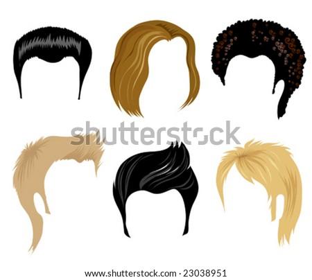 Hairstyles Clipart : Hair Clip Art