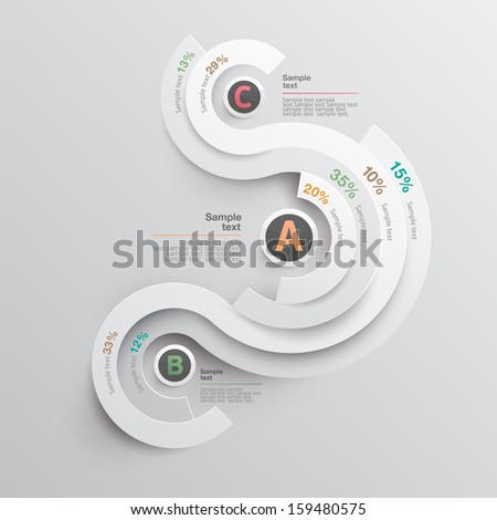 Set of infographics elements. - stock vector