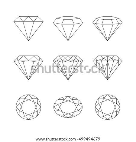 diamond shape stock images royaltyfree images amp vectors
