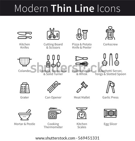 Kitchen Tools And Equipment With Meaning spatula stock images, royalty-free images & vectors | shutterstock