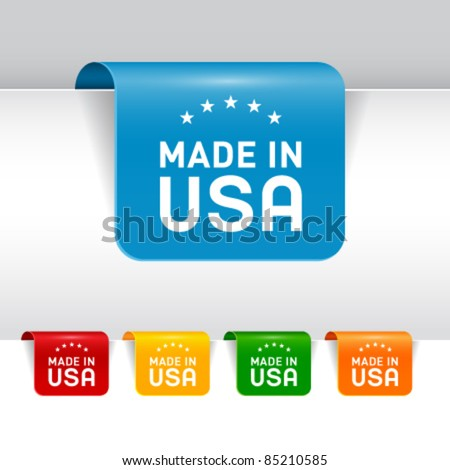 Set of labels. Vector EPS10. - stock vector