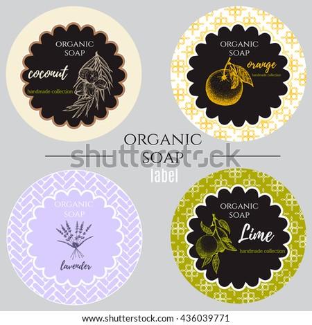 Soap Label Images RoyaltyFree Images Vectors – Label Design Templates