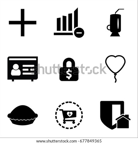 Safe Sex Icons Mono Vector Symbols Vectores En Stock