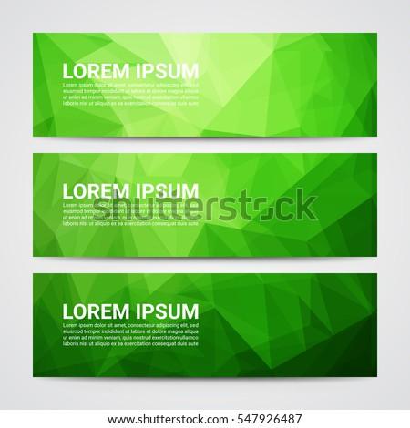 set modern design banners template abstract stock vector 547926487