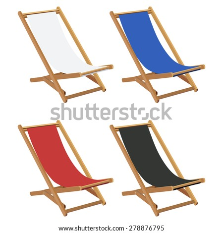 Deck Chair Isolated Stock Images, Royalty-Free Images & Vectors ...