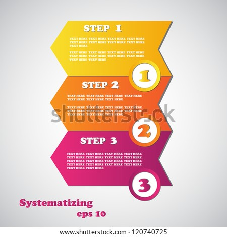 Set of New Labels - Arrow - Vector illustration. Sale Labels Over Gray Background. - stock vector