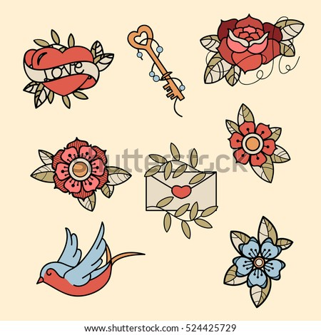 Hand drawn fashion designs