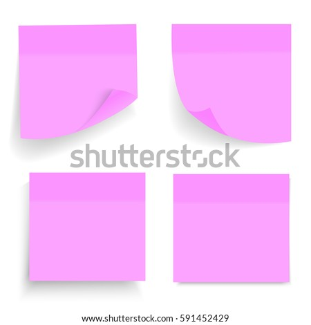 sticky note paper template