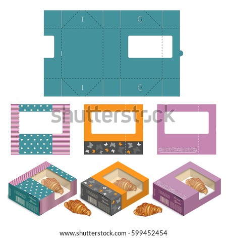 Rectangle Gift Box Cake