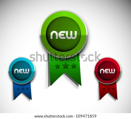 Set of satisfaction guarantee label design element. - stock vector