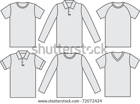 Set of shirts