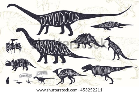dinosaur names and pictures pdf