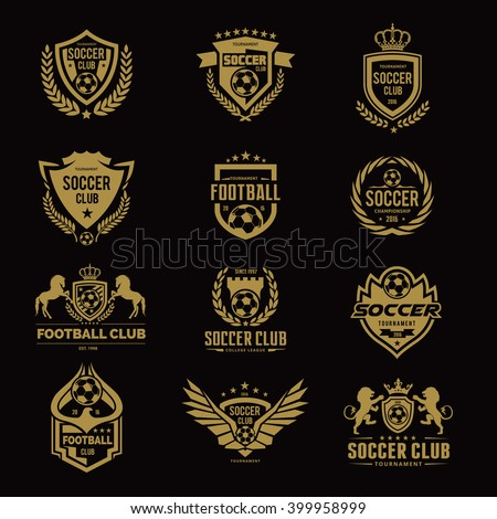 Football Logo Stock Images, Royalty-Free Images & Vectors ...