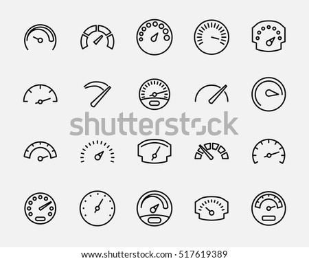 odometer stock images  royalty
