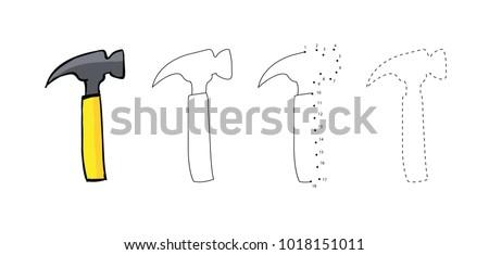 Drawing+hammer+tools