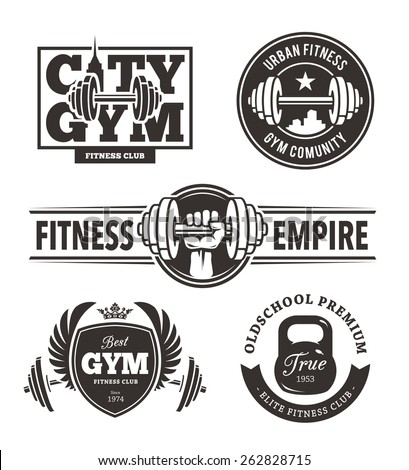 Gym Logo Stock Images, Royalty-Free Images & Vectors | Shutterstock