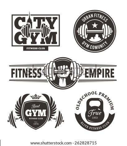 fitness center logos