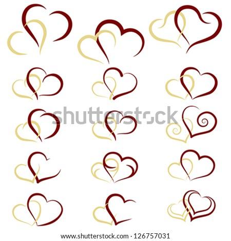 Unique Heart Symbols