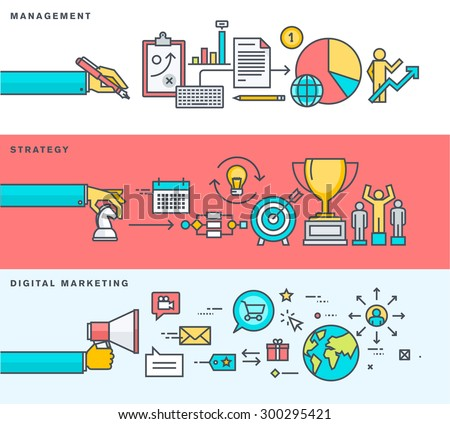 Marketing design stock images royalty free images for Digital marketing materials