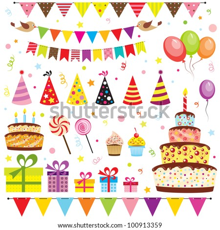 Birthday Party Stock Images RoyaltyFree Images Vectors