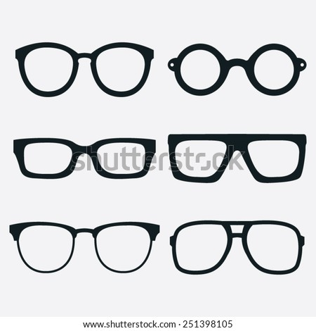 Eyeglass Frame Vector : Glasses Frames Stock Images, Royalty-Free Images & Vectors ...