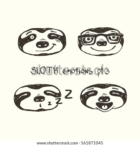 Three Toed Sloth Clipart further Welsh Pony furthermore Fichier Megalonyx size as well Marmot In Hat likewise Sloth face. on ground sloth