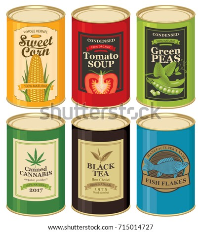 Soup Can Labels