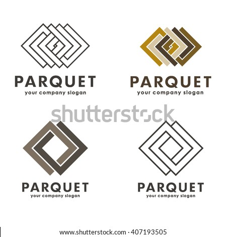 Wood logo stock images royalty free images vectors for Wood floor logo