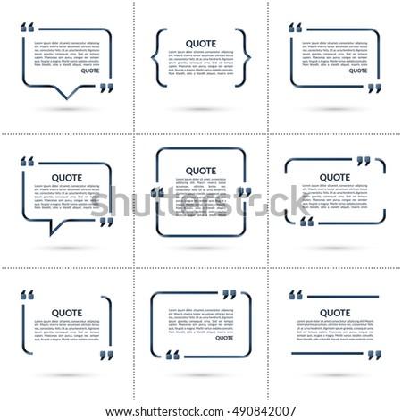 quote templates