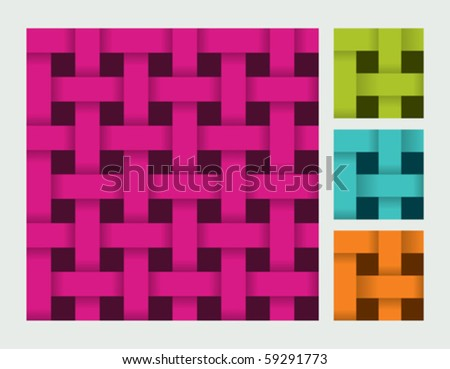 Set of vector seamless patterns - stock vector