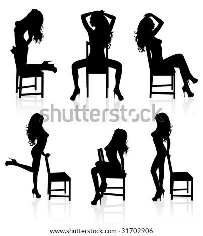 Silhouette Of A Male Stripper 8
