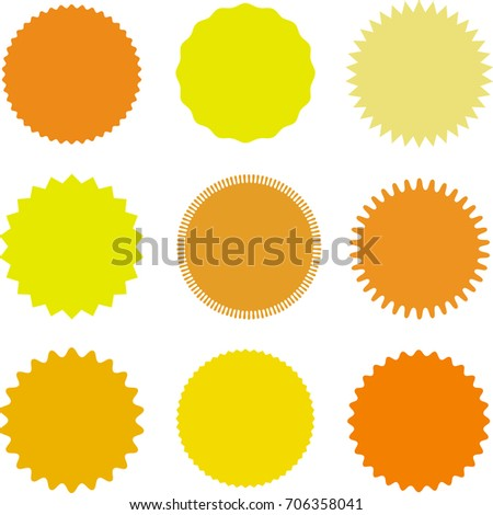 Different Shades Of Orange pricelabel stock images, royalty-free images & vectors | shutterstock