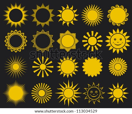 Sun Design Images Sun Icon Stock ...