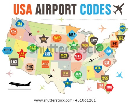 Usa Airport Map | Aahealthcare