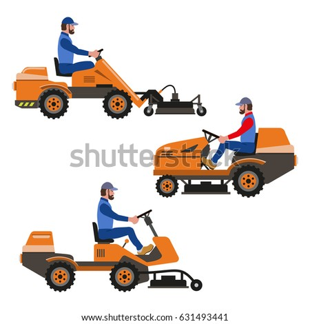 Tractor Mower Stock Images, Royalty-Free Images & Vectors ...