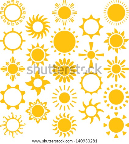 Set of vectorized Suns