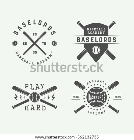 baseball logo stock images, royalty-free images & vectors