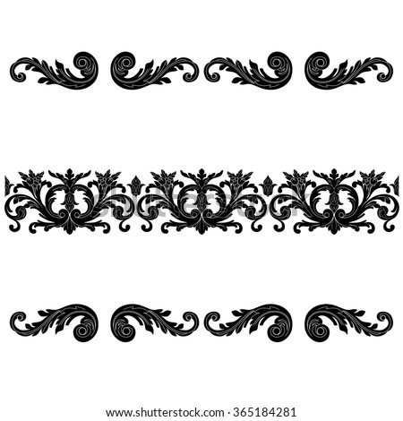 Stock images royalty free images vectors shutterstock for Baroque architecture elements