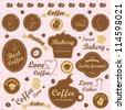 Set of vintage retro - modern bakery logo badges and labels, vector illustration graphic design, Logo Symbols - stock vector