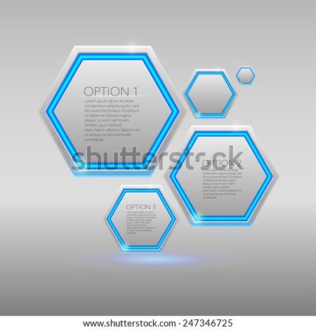 set of white modern elements for web design. eps 10 - stock vector