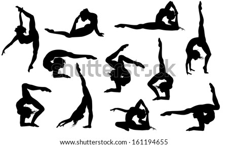 Gymnastics Silhouette Stock Photos Images Amp Pictures