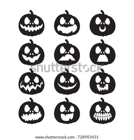 Pumpkin Face Stock Images, Royalty-Free Images & Vectors ...