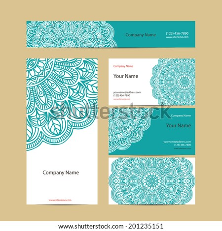 stock-vector-set-retro-business-card-vector-background-card-or ...