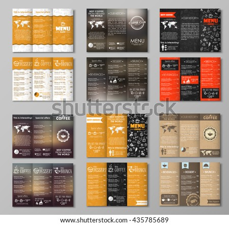 Amazing Vector Web Menus Set