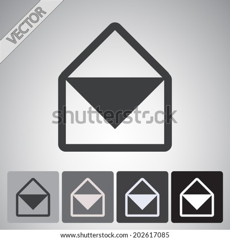Set vector icons - stock vector