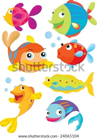 Happy fish stock photos images pictures shutterstock for Happy fish swimming